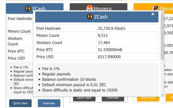 Nanopool Minimum Payout Monero Zcash Miner For Mac – Eagle