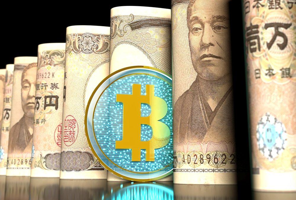 биткоин и иен
