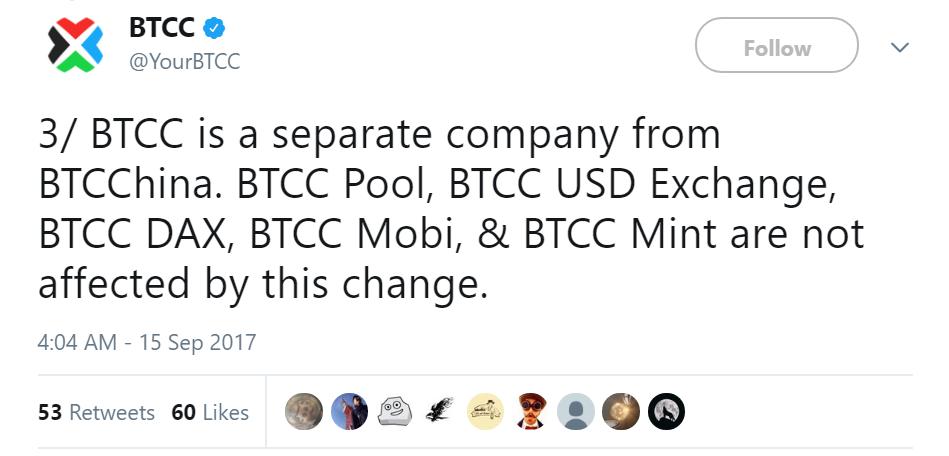 Твиттер Btcc
