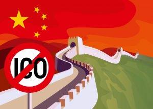 китай запрет ico