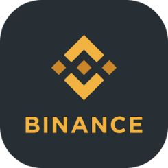 binance logo логотип