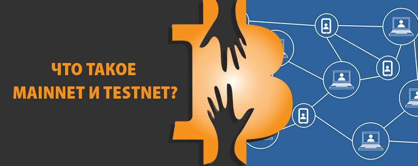 Что такое mainnet и testnet?