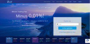 zaif сайт биржи